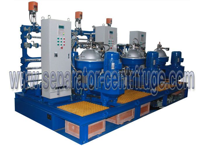 Industrial  Disc Stack Separator Centrifuge Module For Fuel Oil and Land Power Station