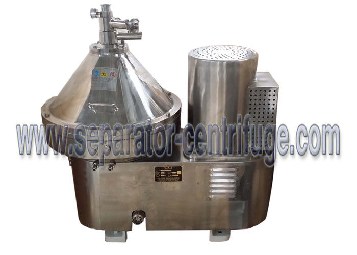 Automatic Part Discharging 2 Phase Dairy / Milk Clarifying Disc Separator - Centrifuge For Clarifying Milk