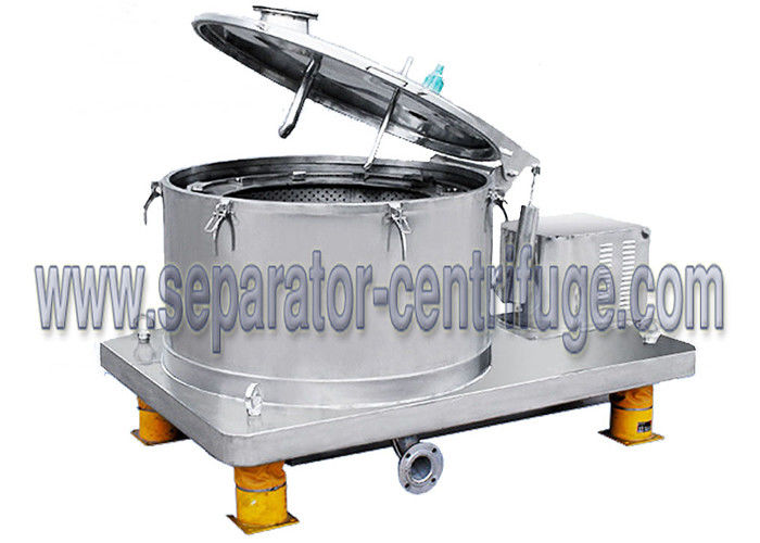 Basket Centrifuge PPBL Hemp Extraction Machine For Chemical / Continuous Flow Centrifuge