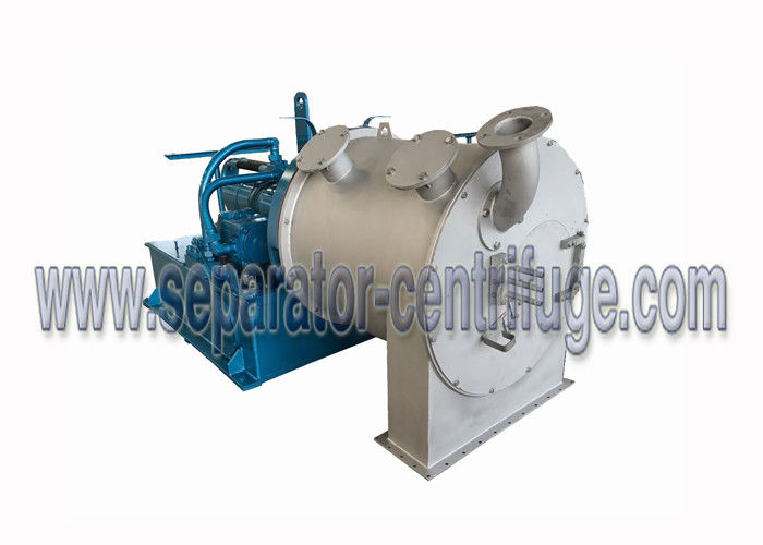 Two Stage Pusher Perforated Basket Centrifuge For Potassium Chloride Separation