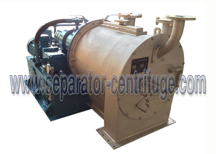 Food Centrifuge 2 Stage Pusher Mineral And Sea Salt Centrifuge Machine