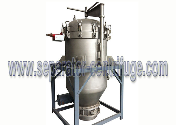 Edible Cooking Oil Cleaning Pressure Leaf Filter with Filter Plate
