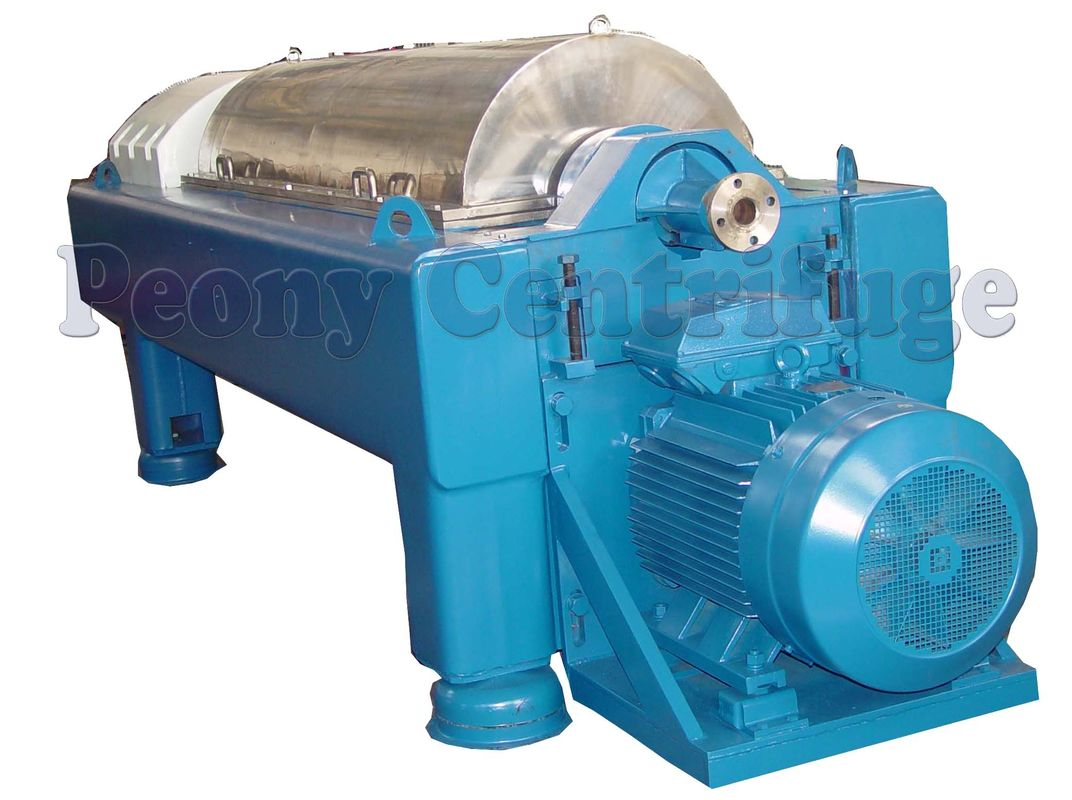 3 Phase Liquid Liquid Solid Separation Decanter Centrifuge Tricanter Centrifuge With Two Motors