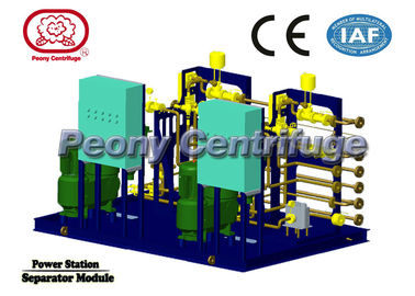 Container Type Power Plant Equipments Centrifugal Separator System