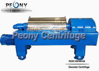 Waste Water Decanter Centrifuges For Steel Factory Sludge Dewatering