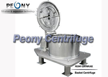 Plate Bag Lifting Top Discharge Food Centrifuge / Basket Centrifuge