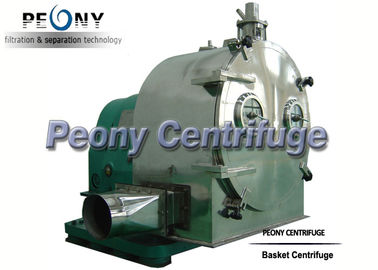 China Horizontal Perforated Basket Centrifuge / Continuous Pusher Centrifuge distributor