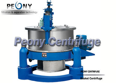 China Horizontal Basket Centrifuge Pump / High Efficiency Separator / Scraper Bottom Discharge Centrifuge distributor