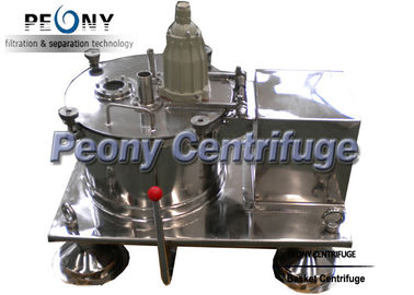 China Plate Bottom Discharge Pharmaceutical Centrifuge / Filtering Equipment For Solid Grains distributor