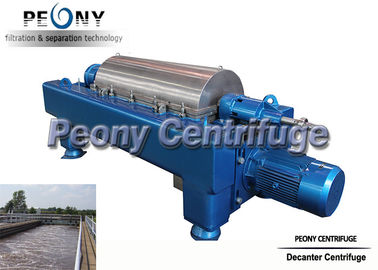 China Sludge Dewatering Decanter Centrifuge Wastewater Treatment Plant Equipment distributor