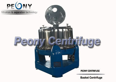 China Industrial Vertical Basket Centrifuge Separator , Full Cover Extraction Machines distributor