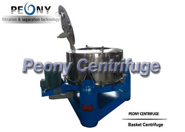 China Three Footed Manual PTDM Top Discharge Centrifuge Basket Centrifuge For Vegetables distributor