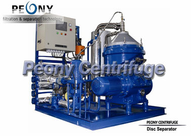 China Automatic Disc Stack Centrifuge 3 Phase Marine Oil Separator Unit distributor