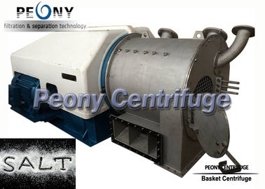 Two - Stage Pusher Centrifuge / Large Capacity Salt Dewatering Centrifuge Equipment
