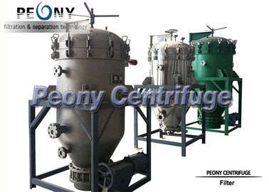 China Plate Type Food Grade PNYB Series Hermetic Pressure Leaf Filter distributor