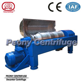 Decanter Drilling Mud Centrifuge / Drilling Fluid Recycling Decanting Centrifuge With PLC Control