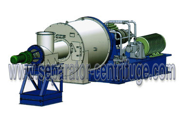 China Horizontal Two Stage Pusher Centrifuge Salt Centrifuge Machine For Concentrating Salt factory