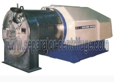 China PWC Pusher Horizontal , Spiral Discharging Filtrating Pharmaceutical Centrifuge Equipment distributor