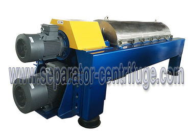 Horizontal Decanter Centrifuge Wastewater Treatment Plant Equipment