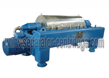 China High Efficiency Drilling Mud Decanter Centrifuge / Drilling Fluid Recycling Decanting Centrifuge With PLC Control factory