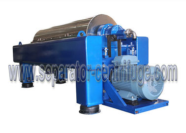 China New Designed Industrial Scale Drilling Mud Centrifuge with SS wet parts factory