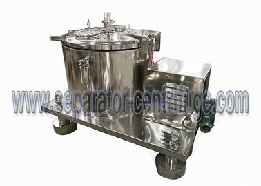 China Top Discharge Chemical Manual Filtration Centrifuge Basket For Separating Suspension distributor