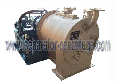 China 2 Stage Pusher Centrifuge Continuously Dewater And Wash Slurry With Crystal And Fiber factory