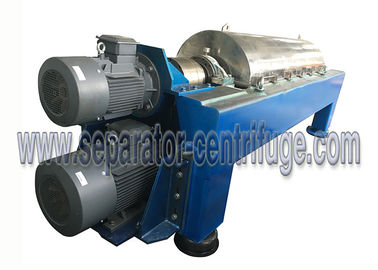 China Decanter Liquid - Liquid - Solid 3 Phase Centrifuge for Kitchen Waste Oil Separation distributor