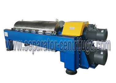 China Large Volume Horizontal 3 Phase Centrifuge With Centripetal Pump , Customized Color factory