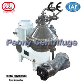 High Speed Continuous Centrifugal Separator / Disc Coconut Oil Centrifuge