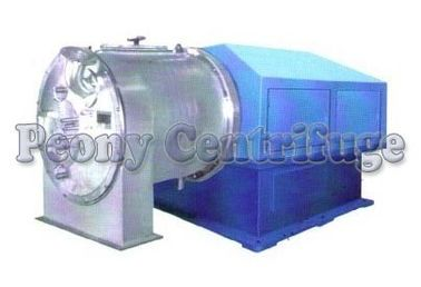 Two - Stage Pusher Centrifuge / Large Capacity Salt Dewatering Centrifuge Equipment