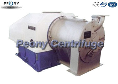 China Automatic Horizontal Pusher Type Centrifuge Double Basket / Drum For Salt Filtrater factory