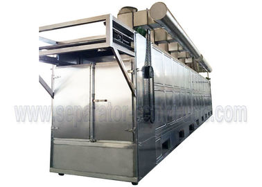 China SUS304 Conveyor Mesh Belt Dryer / Leaf Dryer Machine With 1 Year Warranty factory