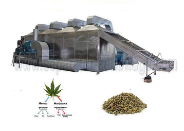 China Turn Key Conveyor Belt Dryer For Marijana Hemp CBD Oil Cold Ethanol Extraction System distributor