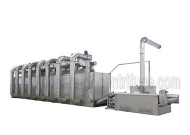 China Automatic Operation Hemp Leaves Conveyor Belt Dryer Machine For Herbal Plant factory