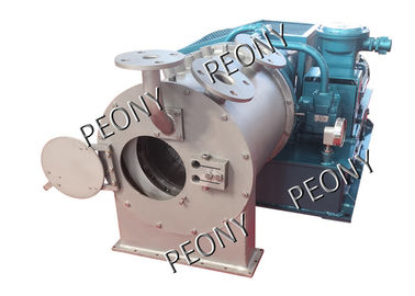 China Industrial Horizontal Pusher Centrifuge Machine Salt Making Easy Maintenance factory