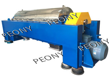 China High Efficient Model Sludge Dewatering Complete Decanter Centrifuge Equipment factory