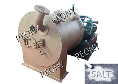 China Salt Separation Centrifuge / 2 Stage Pusher Centrifuge For Salt Dewatering factory