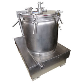 China Manual CBD Oil Solvent Extraction Centrifuge / Vertical Biomass Centrifuge distributor