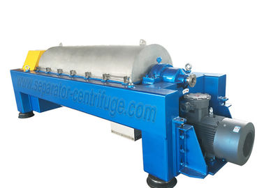 China Industrial Decanter Separator Centrifuge Machine For Sludge Dewatering factory