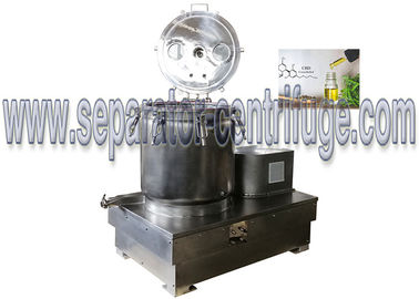 China BB30 Stainless Steel Vertical Wash And Dry Extraction Basket Centrifuge For CBD Oil factory
