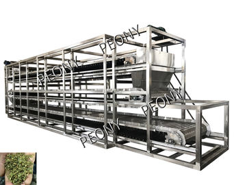 China Continuous Heated Conveyor Belt Dryer Air Circulation Herbal Drying Machine distributor