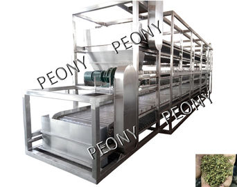 China Mesh Belt Dehydrator Conveyor Drying Systems For Hemp Dewatering , Large Capacity distributor