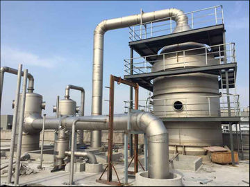 China Multi Effect Force Mvr Evaporating Sodium Chloride Vacuum Distillation System distributor