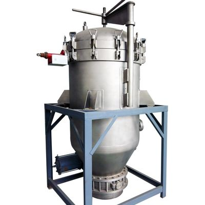 China Economic Vertical Hermetic Pressure Leaf Filter for Juice Clarifying