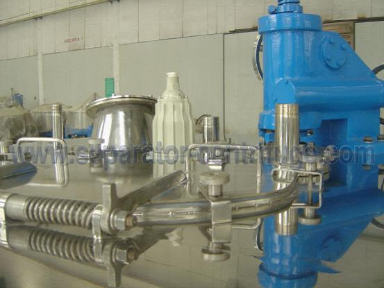Horizontal Basket Centrifuge Pump / High Efficiency Separator / Scraper Bottom Discharge Centrifuge