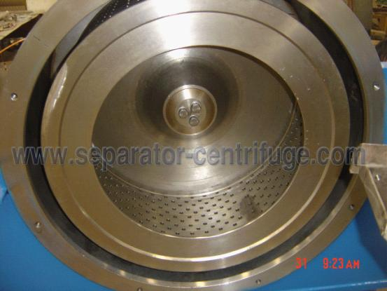 Vertical  Pharmaceutical Centrifuge , Filter Equipment