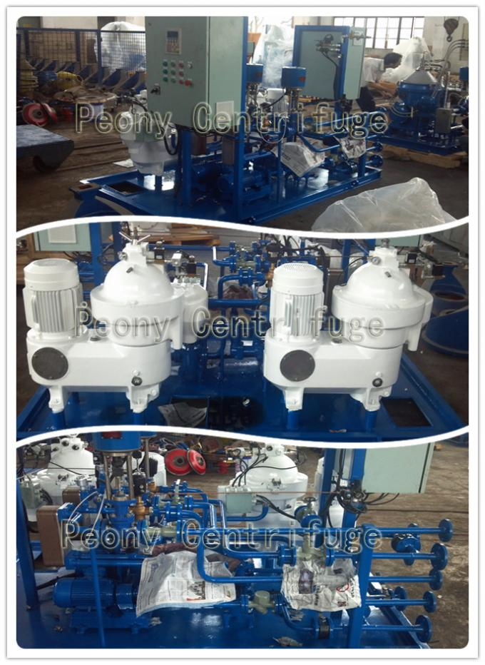 Automatic Skid Mounted Type Centrifugal Mineral Fuel Oil Handling Separator  System for 3-phase Separation