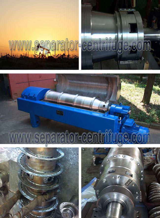 Large Volume Drilling Mud Centrifuge with Horizontal Structure