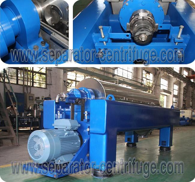 Horizontal Structure Full Automatic Drilling Mud Centrifuge from China